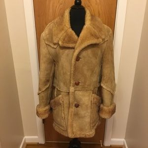 Berman's vintage shearling sheepskin coat